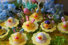 Easter Soap Cupcake Ducky Childrens Soap Spring Party by DaisyKays, $4.50