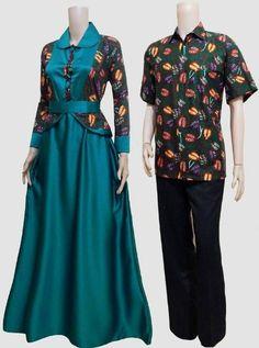 50 Gambar Model Baju Batik Gamis Pesta Elegan Dan Modis - Indonesia ... a1dc4b54da