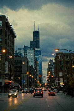 Chicago: Heading home for the night