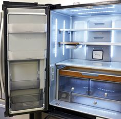 KitchenAid KRFC704FBS Fridge (Left)