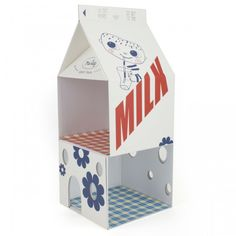 Maileg Milk Carton mouse house