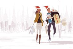 This time of the year shopping. by PascalCampion.deviantart.com on @DeviantArt
