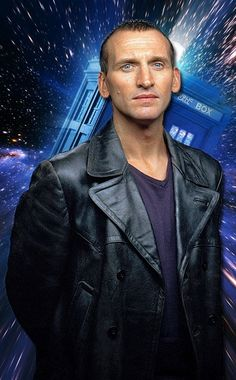 Christopher Eccleston as Dr. Who Just starting watching this and I LOVE it!!!