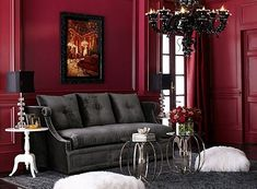 Modern Victorian Decor | Boudoir Victorian Gothic style bedroom decorating ideas - Gothic chic ...