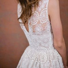 unique lace wedding dress
