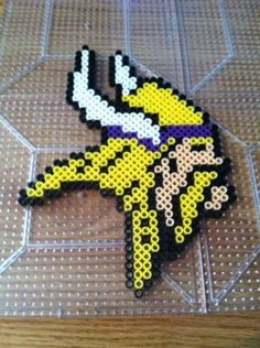 Little Viking perler beads by Khoriana on DeviantArt