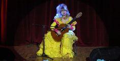 Ünlü gitarist Galina Vale, ODÜ'de konser verdi
