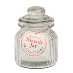 Traditional Biscuit Jar Small