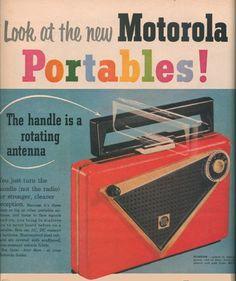 Motorola ad 1955 by sueism1, via Flickr