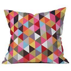 DENY Designs Decorative Pillow - Multi-Colored