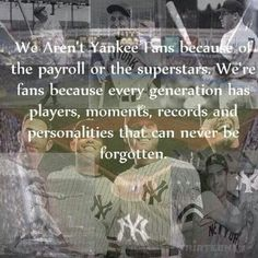 Derek Jeter has forever taken the spot of that generation for me, definitely not ready to say goodbye