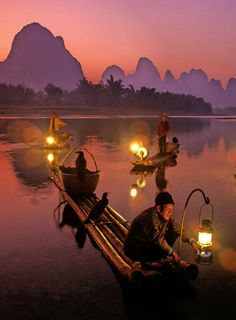 Li River, China: Imagine doing a massive paddle along the Li River.  SUP, Canoe, Kayak, or even on one of their bamboo boats, camping throughout. Great climbing out here too.