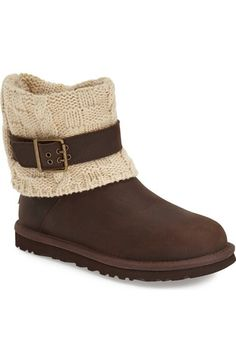 UGG® 'Cassidee' Cable Knit Boot (Women) available at #Nordstrom