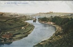 Photochrom Co Ltd Postcard - Whitby from Larpool Celesque Series Book Collection, Denmark, Postcards, World, The World, Peace