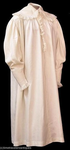 nightgown ca 1830