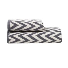 Betty Jackson.Black Designer grey chevron towel- at http://www.debenhams.com/webapp/wcs/stores/servlet/prod_10701_10001_308020220563_-1