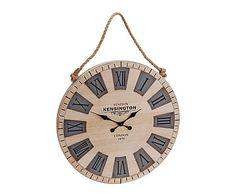 Reloj de pared en madera - Ø50 cm