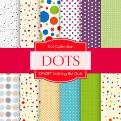 Nothing But Dots Digital Paper DP4097
