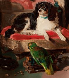 Dash and Polly -- two pets belonging to Queen Victoria