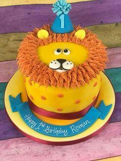 Animal cake – Pastry World Cupcakes, Cupcake Cakes, Sophia Cake, Lion Cakes, Bithday Cake, Safari Cakes, Sea Cakes, Funny Cake, Pastry Cake