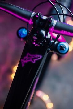 """""""Rave all night, Ride all day"""", introducing Meg Wyte's Custom Nukeproof Mega 275c. She's a Downhill and Enduro racer, gravel rider and full-time manager of a local bike shop. Meg Whyte is an example of someone who lives, breaths and loves bikes. A love born from seasons """"living the MTB dream"""" in Morzine and cemented by life as a student in North Wales. Custom bike by EliteRefinish. Best Mountain Bikes, Mountain Bike Trails, Women's Cycling Jersey, Cycling Jerseys, Womens Cycling Kit, Electric Mountain Bike, Cycling Outfit, Custom Bikes, Rave"""