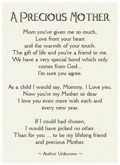 100 Best Thankful For Our Mothers Images Frases Mothers Love