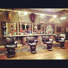 The Modern Man Barber Shop - Portland, OR. If you're a man, this is where you belong. Check 'em out! http://themodernmanpdx.com/