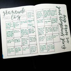 11 best bullet journal gratitude logs images on pinterest bullet