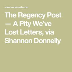 The Regency Post — A