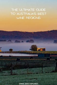 The Ultimate Guide to Australia's Best Wine Regions -Emma Jane Explores Australia Country, Visit Australia, Kangaroo Island, Air Balloon Rides, Iceland Travel, Best Cities, Amazing Destinations, Day Trip, Emma Jane