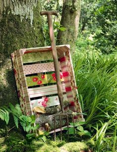 Vintage Wood Crates: Upcycled & Repurposed