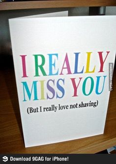 Long Distance Relationships: A Card