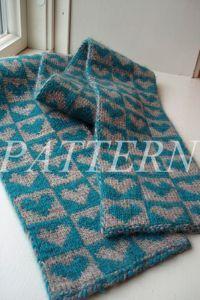 From My Heart Scarf - KnittingPattern - Alpaca Direct  VALENTINES!