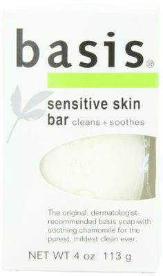 Basis Sensitive Skin Bar, Cleans + Soothes, 4-Ounce Bars (Pack of 6) - http://www.specialdaysgift.com/basis-sensitive-skin-bar-cleans-soothes-4-ounce-bars-pack-of-6/