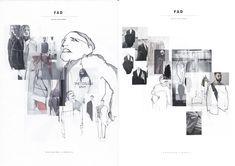 ARTS THREAD Profile - ARTS THREAD A Level Art Sketchbook, Sketchbook Layout, Fashion Design Sketchbook, Fashion Design Portfolio, Fashion Illustration Sketches, Sketchbook Inspiration, Retro Logos, Vintage Logos, Fashion Design Template