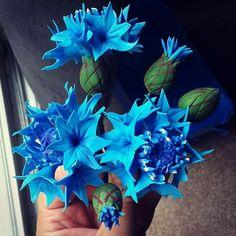Tutorial Centaurea  ♥Zorica´s Cake Art♥ https://www.facebook.com/media/set/?set=a.666187533469418.1073741862.474549872633186&type=3