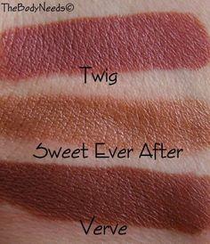 mac lipstick swatches for darker skin tones del rio