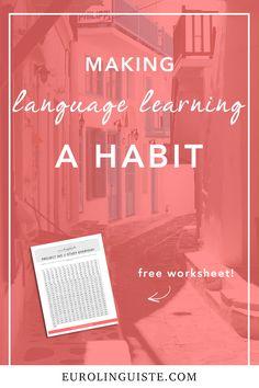 Making Language Learning a Habit