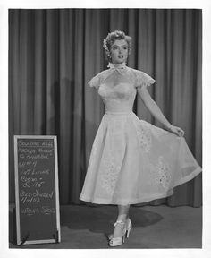 Marilyn Monroe costume test for We're Not Married (1952)