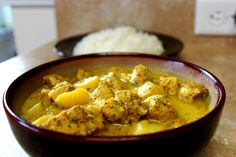 The curry is a popular spice in most Indian influe. The curry is a popular spice in most Indian influenced cultures around the world, but in Jamaica, this spice is used in great ways to complement many dishes. Jamaican Cuisine, Jamaican Dishes, Jamaican Recipes, Curry Recipes, Jamaican Oxtail, Carribean Food, Caribbean Recipes, Caribbean Chicken, Jamaican Curry Chicken