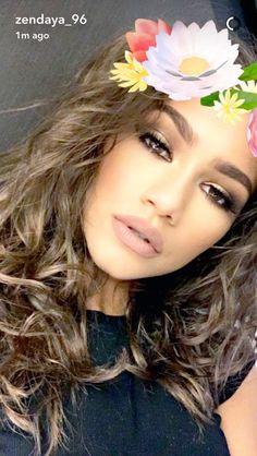Zendaya on snapchat 7/11/16
