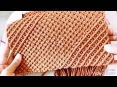 Tiutorial tutup WIPO exclusive macrame - YouTube Macrame Plant Hanger Patterns, Macrame Plant Holder, Macrame Patterns, Macrame Purse, Macrame Knots, Rope Plant Hanger, Jute Crafts, Macrame Projects, Macrame Tutorial