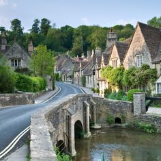Castle Combe, England! Walked through this town this summer - My Favorite place on our trip!! Felt like you were on a movie set!