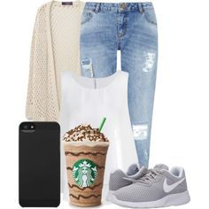 #17 by oneandonlyfashion on Polyvore featuring Violeta by Mango, Miss Selfridge, NIKE and Incase