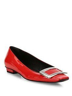 Roger Vivier - Belle Vivier Patent Leather Mid-Heel Pumps