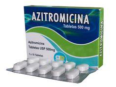 ANTIBIÒTIC NOM: Azitromicina P.A.: Azitromicina INDICACIÓ: Inhibe la síntesis de proteínas bacterianas por unión a la subunidad 50s del ribosoma e inhibiendo la translocación de los péptidos.