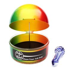 THIS WEEK ONLY - 20% OFF THE RASTA HOME DOME™ @pokeabowl!  Shop online at PokeABowl.com - Clean Your Ash Hole®