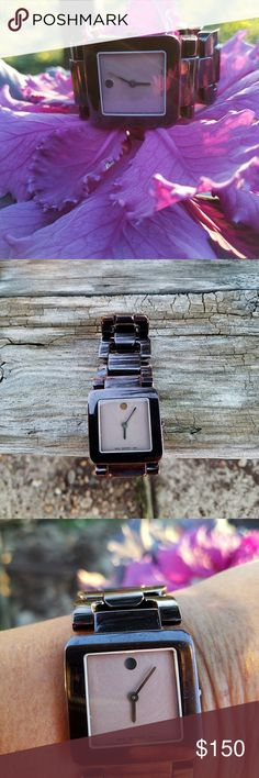 MOVADO WATCH USED ABOUT  TWICE  NO SCRATCHES VERY NICE Movado Accessories Watches