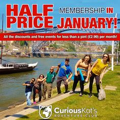 If your 2017 New Years resolution is to travel more then take a look at our Club Membership that offers great discounts and perks the more you travel! So get planning for your year of adventures. http://katsadventures.com/members/ 	#2017 #newyear #travel #membership #curiousweekends #curiouskat