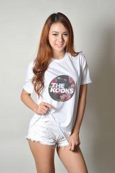 The Kooks Band Hipster Tumblr Teen Women Fashion Style Graphic Tee Shirt